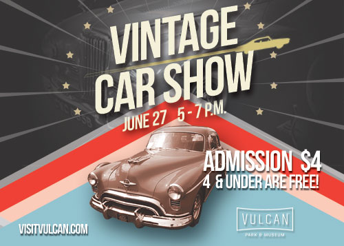 Upcoming Events Vulcans Vintage Car Show Vulcan Park Museum - Car show birmingham al