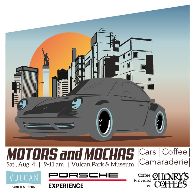 Upcoming Events Motors And Mochas Vulcan Park Museum Birmingham AL - Car show birmingham al