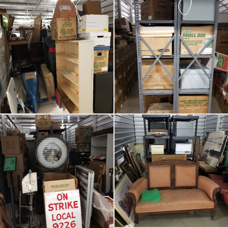Birmingham History Center's collection in storage