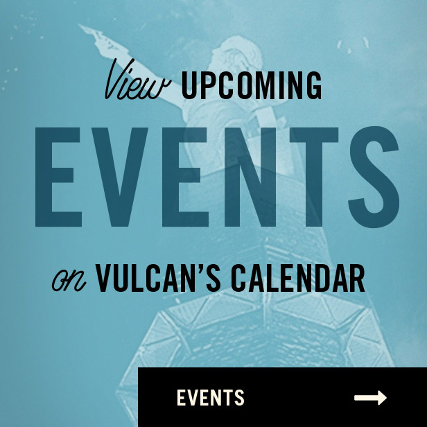 View Upcoming Events on Vulcan's Calendar